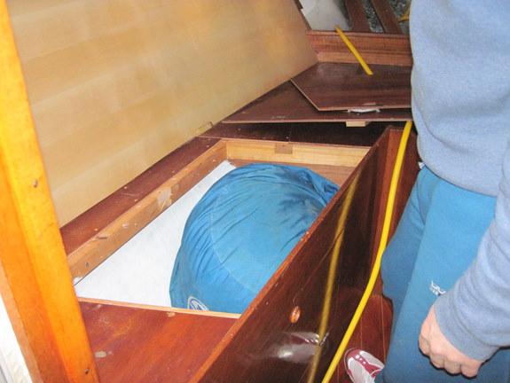 Remodeling the V Berth