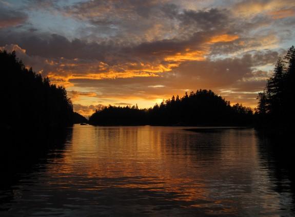 Laura Cove Sunset