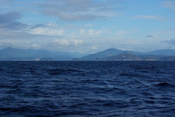 Strait of Georgia – 2011 South BC Coast Trip