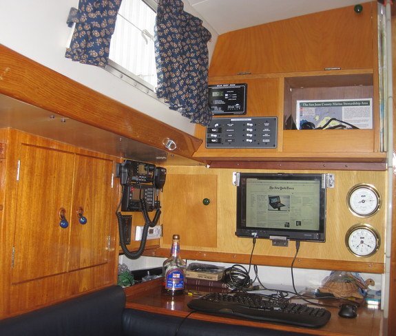 Rainshadow's Nav station
